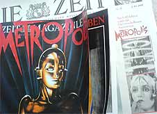 Breakfast with METROPOLIS: The new ZEIT is on newsstands THIS WEEK.